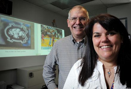 Gary Bishop and Karen Erickson