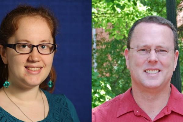 Tanya Amert and James Anderson