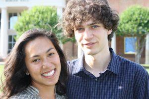 Tara Aida (left) and Joe Puccio (B.S. '16), co-founders of Coursicle.
