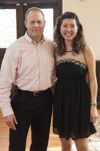 Mike Reiter and Kaylee LLewellyn